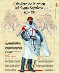 .Caballero de la Orden del Santo Sepulcro (XII)