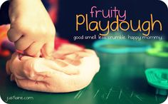 Fruity play dough