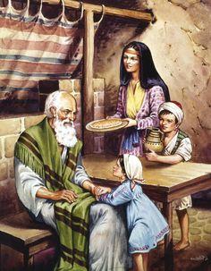 Elijah and the Widow -1 Kings 17:8