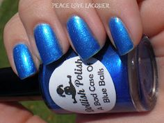 Dollish Polish - A Bad Case of Blue Balls