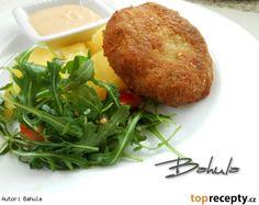 Holandský mletý řízek se sýrem Seaweed Salad, Baked Potato, Potatoes, Baking, Dinner, Ethnic Recipes, Arizona, Cooking, Dining