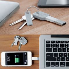 Kii iPhone Keychain Charger - Bluelounge