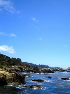 Carmel >>> Not sure what part of Carmel's coastline this is, but I'll find it, the day I visit (whenever that might be).