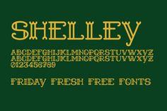 Friday Fresh Free Fonts - Shelley, Andada, ...