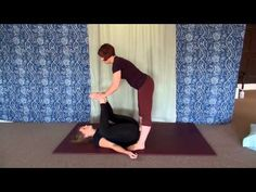 How to do the Thai Yoga Massage Butterfly Stretch