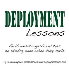 """Deployment lesson: Adjusting to new routine takes time""  It can be hard but you will find your routine again... - MilitaryAvenue.com"