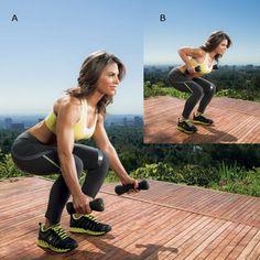 Jillian Michaels' Tornado Crunch - Jillian Michaels' Fast Track to Fit Workout - Shape Magazine - Page 17