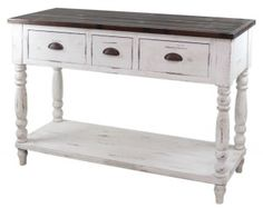 French Farmhouse Console Table