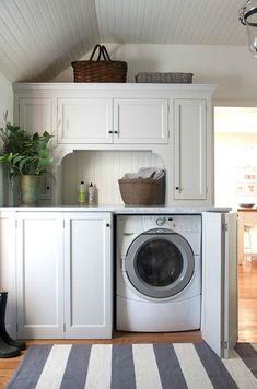 Chic Laundry Room Decorating Ideas