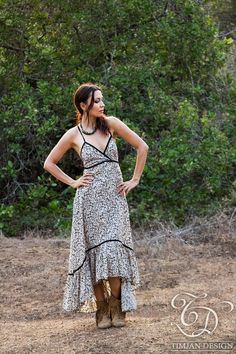 New! AGAVE DRESS - Bohemian Hippie Maxi Elegant Prom Wedding Party Burning man…