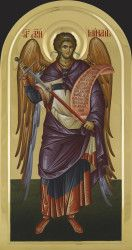 Religious Images, Religious Icons, Religious Art, Byzantine Icons, Byzantine Art, Angel Hierarchy, Order Of Angels, Faith Of Our Fathers, Michael Art