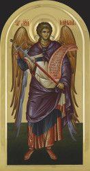 St Arch. Michael 96x50 cm