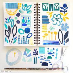 Julie Hamilton Creative - Sketchbook Studies #sketchbook_studies