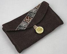 Porte carte, porte monnaie, porte feuille, porte feuille femme tout en un, pochette indispensables. de la boutique MAcreacouture sur Etsy