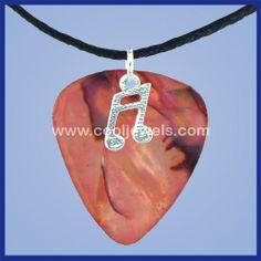 Cool Guitar Picks | Guitar Pick Jewelry | Guitar Pick Necklace