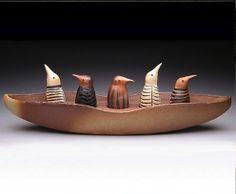 Marian Haigh, ceramic boat
