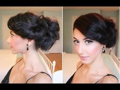 cool updo...love it! actually feels like it would stay!