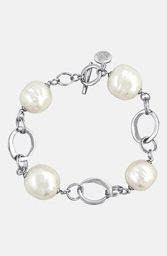Majorica Baroque Pearl Link Bracelet available at #Nordstrom Gifts that give back to charity https://www.linksjewelry.com/Articles.asp?