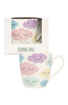 Primark - Tasse mit pastellfarbenen Wolken