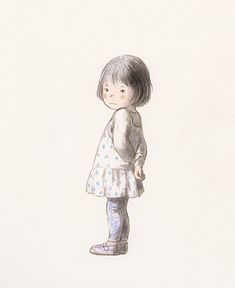 Chiaki Okada i think pencil colour or if not just illustrations. Children's Book Illustration, Character Illustration, Digital Illustration, Illustrations And Posters, Cute Art, Illustrators, Character Design, Collage, Sketches