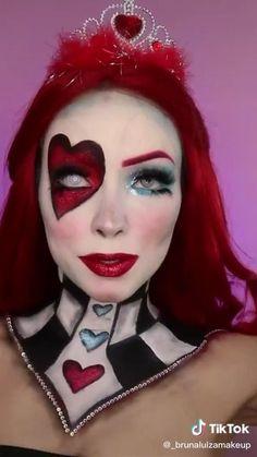 Halloween Makeup Artist, Amazing Halloween Makeup, Halloween Makeup Looks, Halloween Kostüm, Cool Makeup Looks, Crazy Makeup, Cute Makeup, Disney Villains Makeup, Disney Makeup