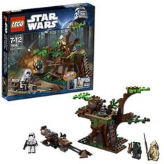 LEGO Star Wars Ewok Attack 7956 * More info could be found at the image url.