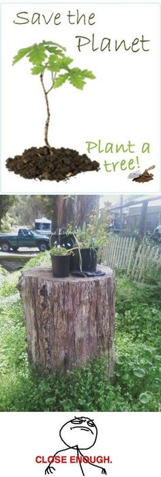 Going Green - www.funny-pictures-blog.com
