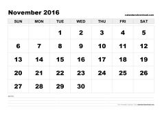 We are going to share the best November 2016 Printable Calendar, template and printable for free download. You can download Nov 2016…