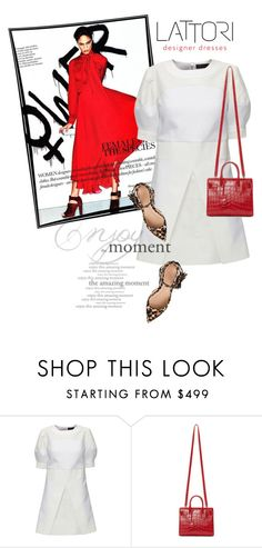 """LATTORI.com"" by monmondefou ❤ liked on Polyvore featuring moda, Lattori, Yves Saint Laurent, J.Crew y lattori"