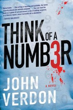 Cover image for Think of a number : a novel