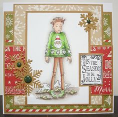 LOTV - Oliver Christmas Jumper by Lorraine Bailey Star Darlings, Christmas Cards, Christmas Ornaments, Christmas Jumpers, Weekend Projects, Digi Stamps, Lily Of The Valley, Hello Everyone, Handmade Items