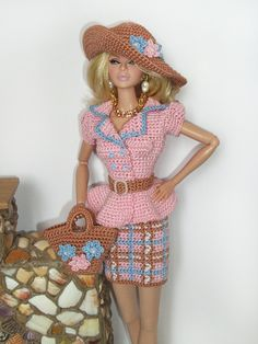 Barbie crochet outfits / 46.25.3