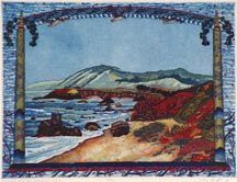 Gail Packer Northern View from Portuguese Beach - great local artist  (1945-2008)