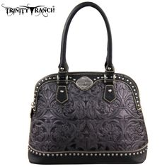 Montana West Trinity Ranch Tooled Design Collection Handbag Many Colors