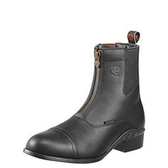 Ariat Mens Heritage III Zip H2O Paddock 11 D  MediumWidth Black >>> You can get additional details at the image link.
