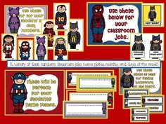 Superheroes Classroom Theme: Great Scott, it's a class of