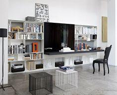 Centros de entretenimiento solución elegante   Ideas para decorar, diseñar y mejorar tu casa.