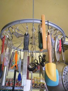 Good idea for hanging tool storage in the garage