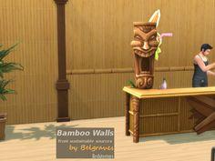 Leander Belgraves' Bamboo Walls