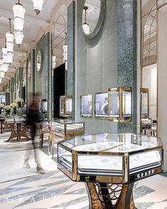 Luxury Decor, Luxury Interior, Decor Interior Design, Interior Styling, Interior Decorating, Jewellery Shop Design, Jewellery Showroom, Jewellery Display, Art Furniture