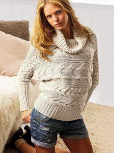 Women's hand knit cowl neck sweater hand knitted women's turtleneck sweater pullover women's clothing handmade turtleneck crewneck v-neck