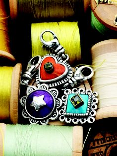 Love these colorful charms! Visit mysilpada/leann.babcock