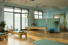 Mindful Movement Pilates Studio, IN Love the live plants!