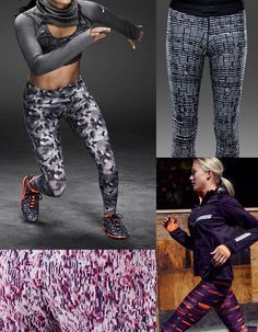Active Sportswear Print & Pattern [Special Report] | Patternbank Nike Running