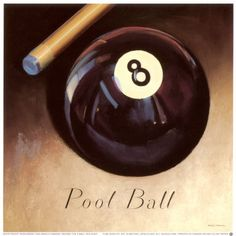Behind the 8 Ball Print by Marco Fabiano Pool Table Room, Pub Interior, Pool Games, Pin Up, Billiard Room, Game Room, Art Prints, Poster, Basement Decorating