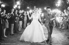 LOVE how this photographer showed off our sparklers!