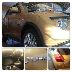 The 2013 Nissan Juke is definitely built to thrill! The interior is dashing as well as reveals hints of red through out the car which closely mimics a sport bike. This vehicle also has (AWD) all wheel drive and automatically adjusts the power from side to side in a turn.