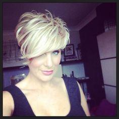New short blonde hair!