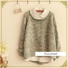 yes, i want all of them..... Mélange Sweater from #YesStyle <3 Fairyland YesStyle.com