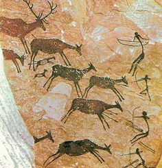 """Modern painters have been influenced by the Altamira cave paintings. After a visit, Pablo Picasso exclaimed """"after Altamira, all is decadence"""". - Dopo Altamira, tutto è decadenza, esclamò Pablo…More Paleolithic Art, Cave Drawings, Art Ancien, Art Premier, Indigenous Art, Tempera, Aboriginal Art, Ancient Art, Ancient History"""